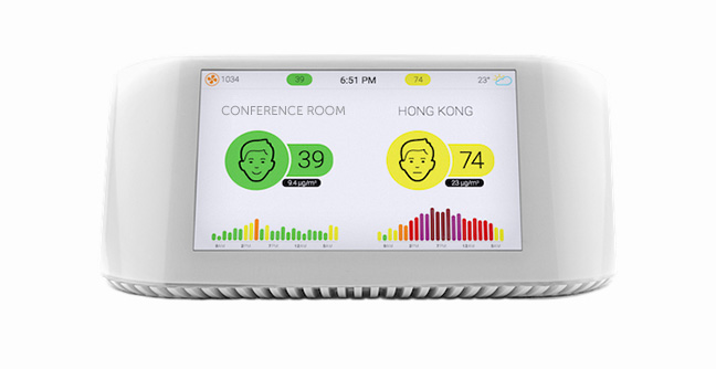AirVisual Pro air quality monitor