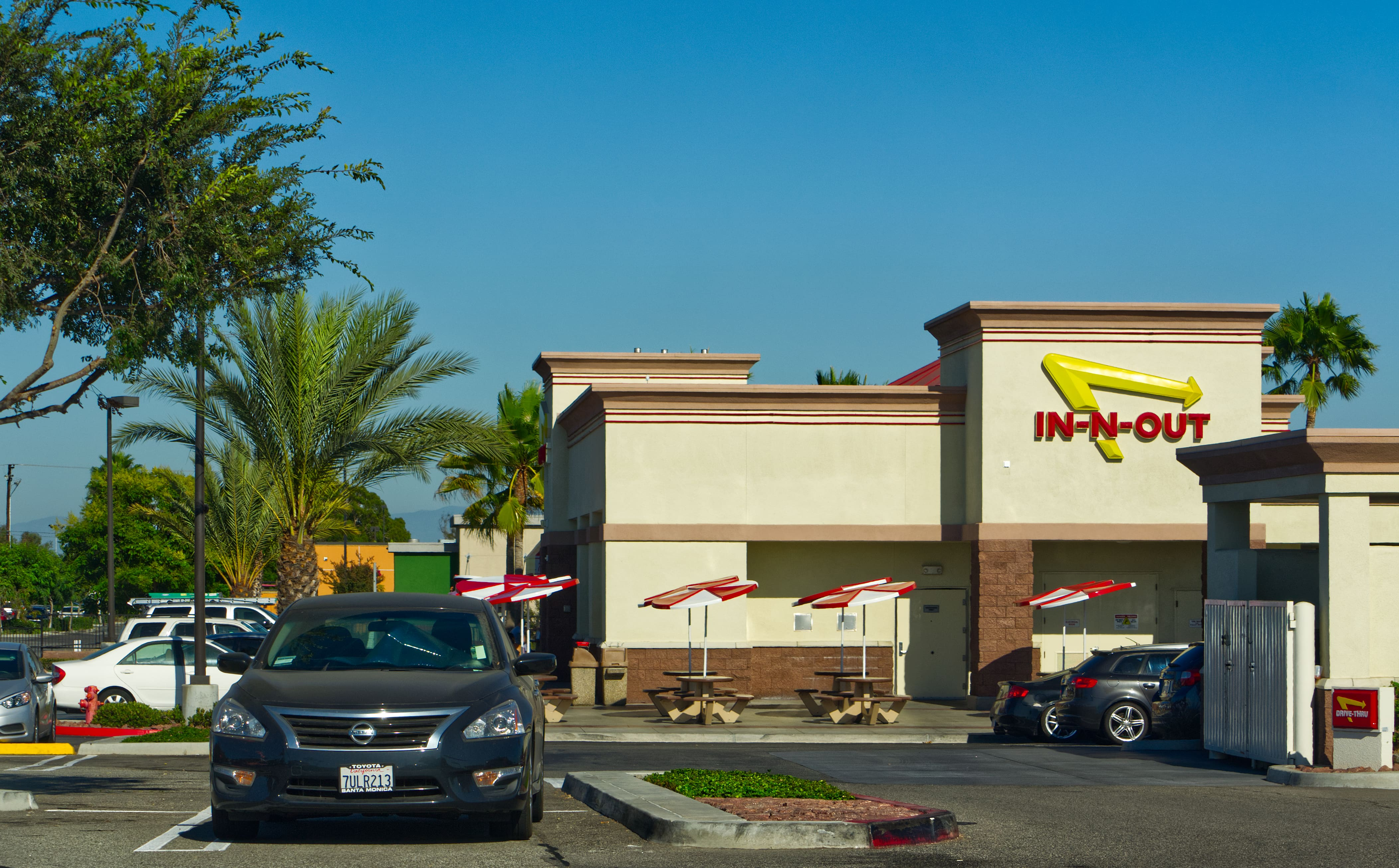 In-N-Out in Signal Hill